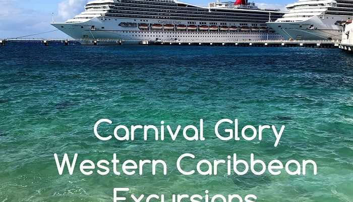 Carnival Glory Western Caribbean Excursions