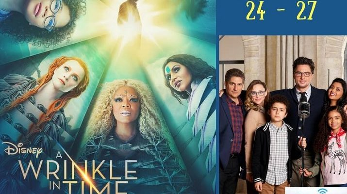 A Wrinkle in Time Movie Premiere + New ABC TV Series!