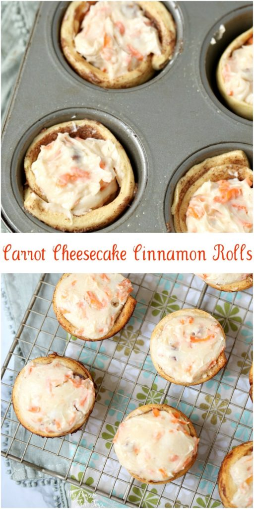 carrot cheesecake cinnamon rolls recipe