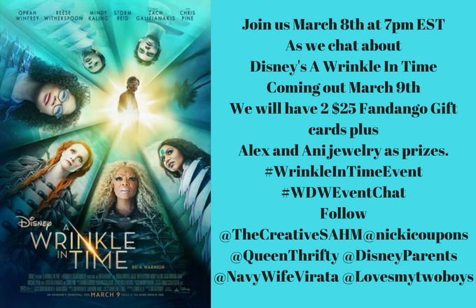 wrinkle in time twitter party