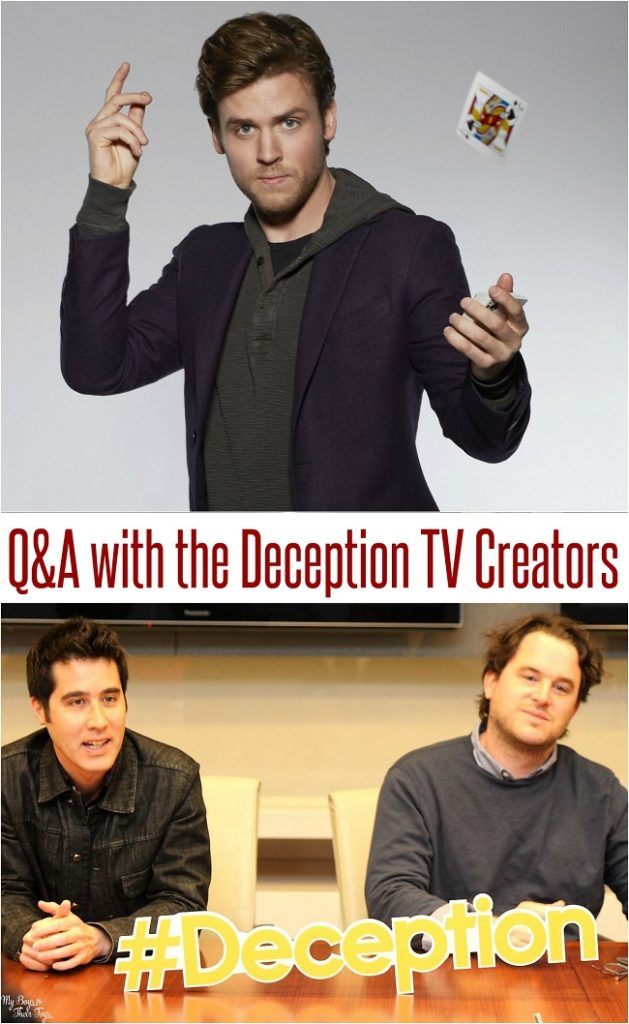 deception tv show creators