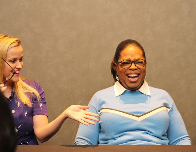 reese and oprah a wrinkle in time