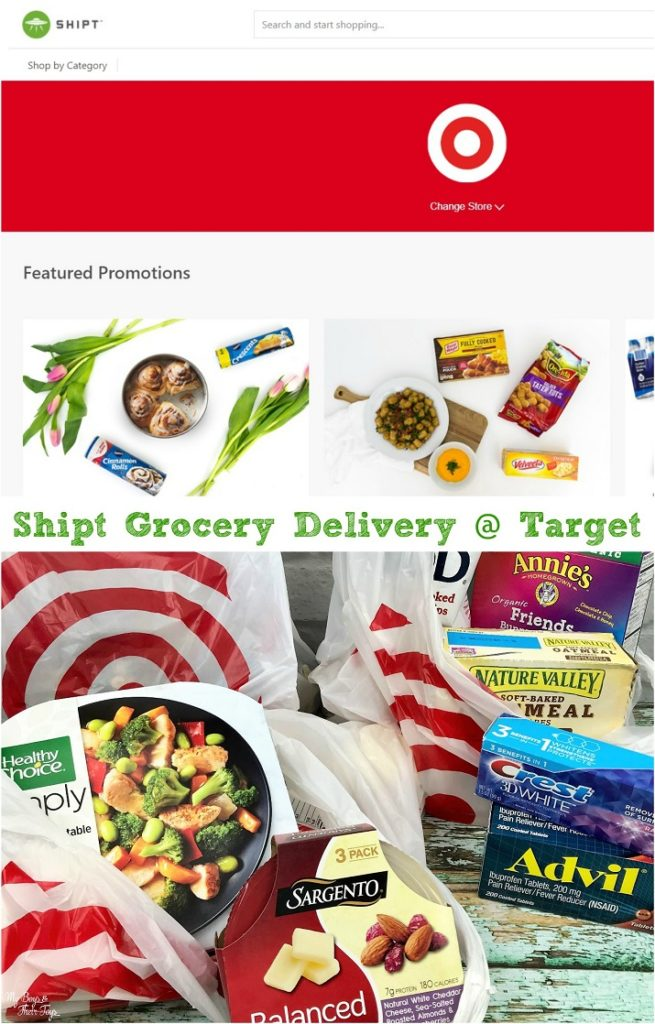 shipt grocery delivery at target