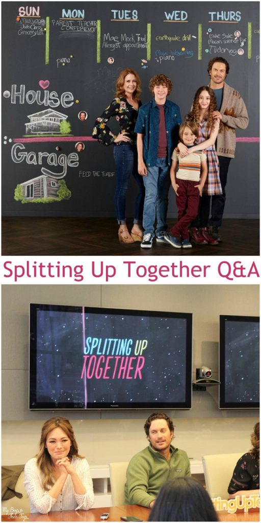 splitting up together Q&A