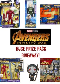 Avengers Infinity War Toys – Huge Giveaway!
