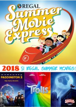 2018 Regal Summer Movie Express
