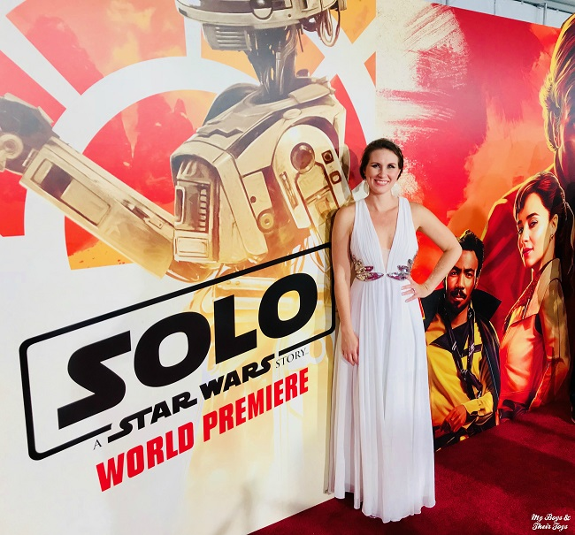 solo premiere red carpet