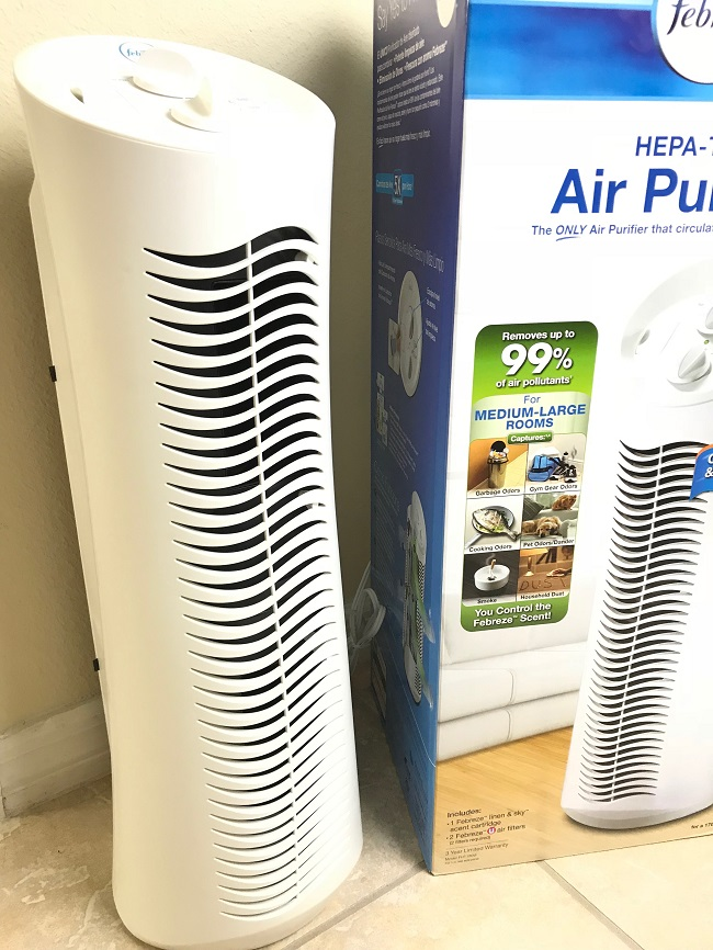 hepa-type air purifier