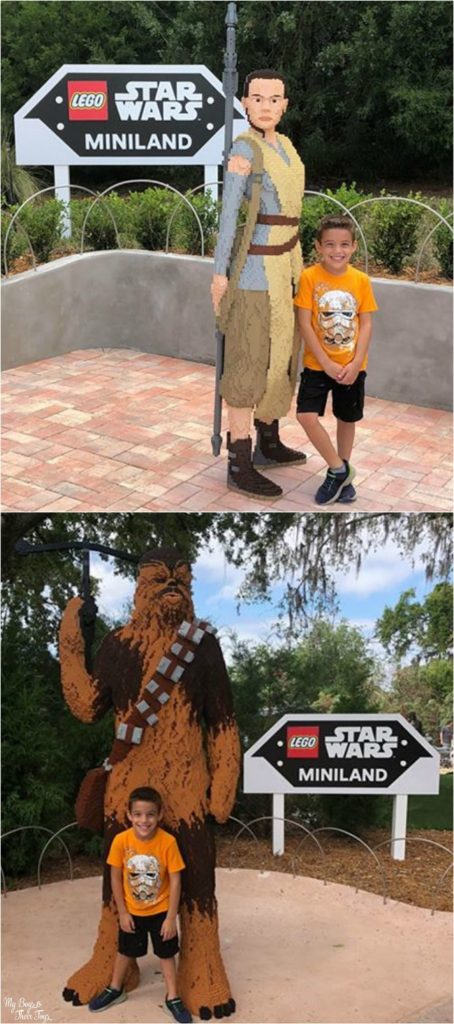 legoland rey and chewie