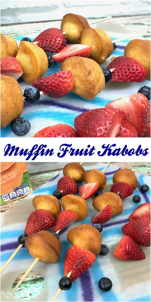 muffin fruit kabobs