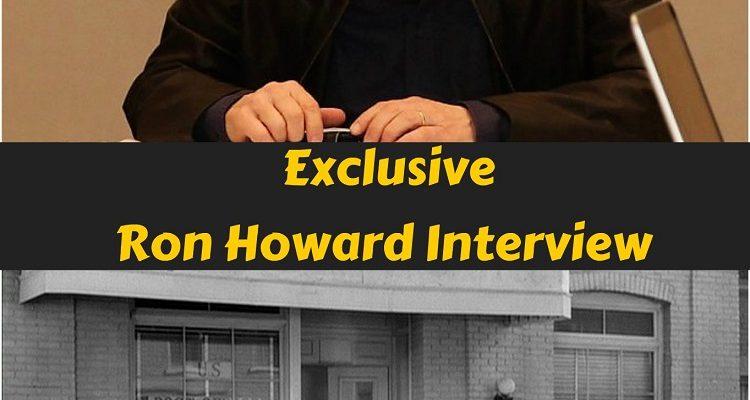 Ron Howard Director of SOLO: A Star Wars Story Exclusive Interview