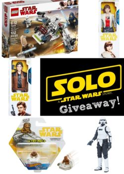 solo star wars toys giveaway