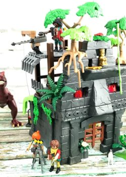 t-rex hidden temple playset