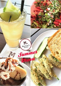 Marlow's Tavern summer menu