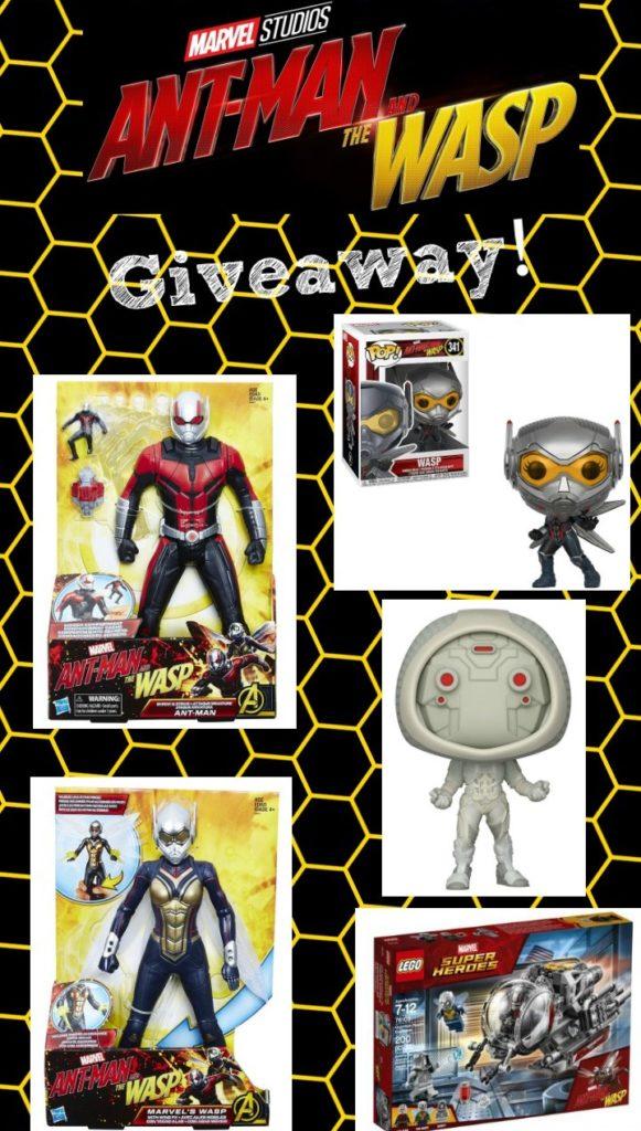 ant man wasp toy giveaway