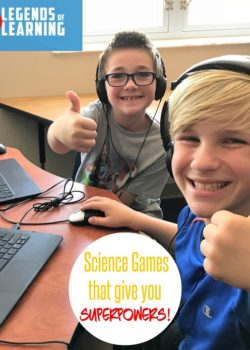 legends of learning science games