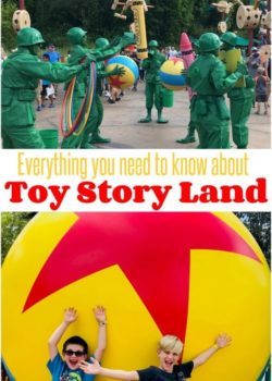toy story land walt disney