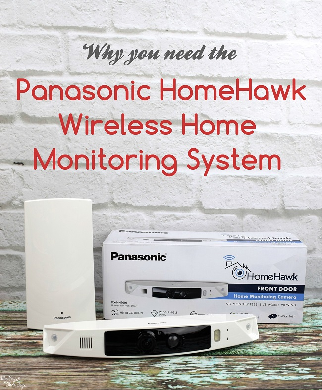 Panasonic homehawk camera