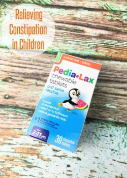 relieving constipation in children