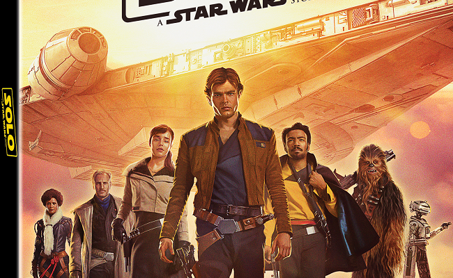 Coming Soon! Solo A Star Wars Story Blu-ray