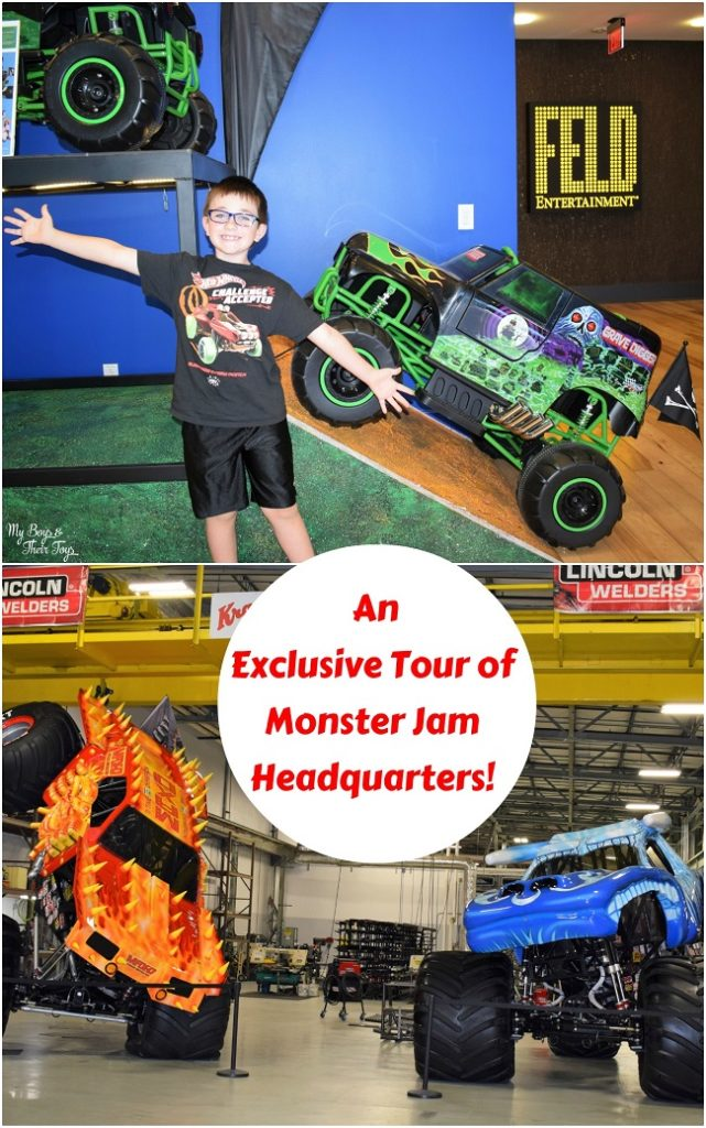 monster jam truck tour