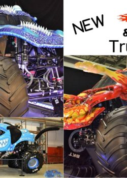 fire & ice monster trucks