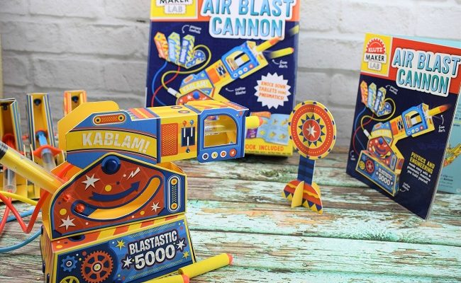 Inspire Creativity with Klutz DIY Cannon Science Kit!