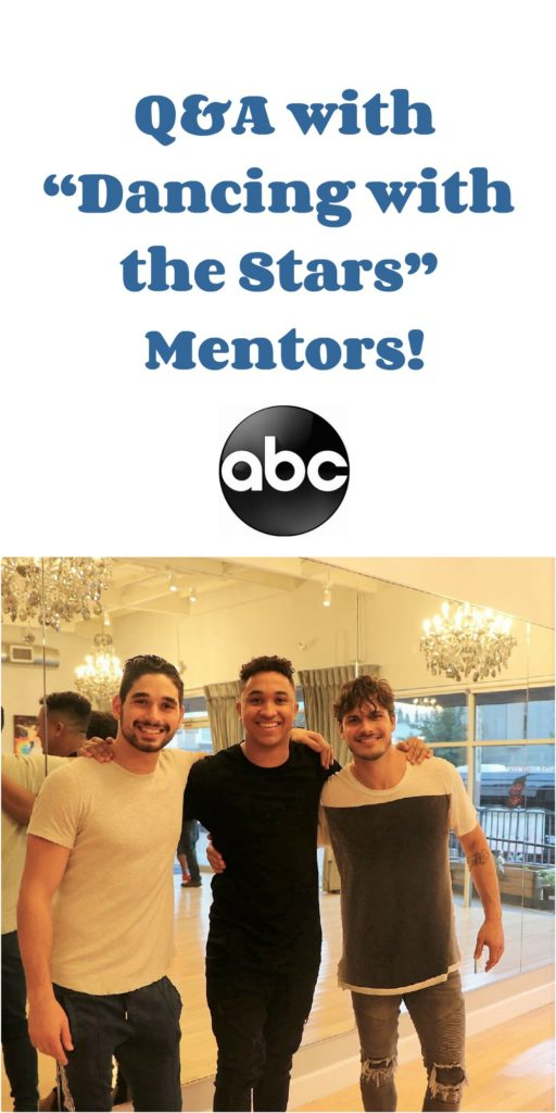 dancing with the stars mentors