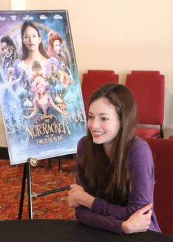 Exclusive Mackenzie Foy Interview – Disney's Nutcracker and the Four Realms