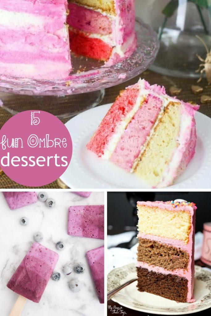 15 Ombre Desserts