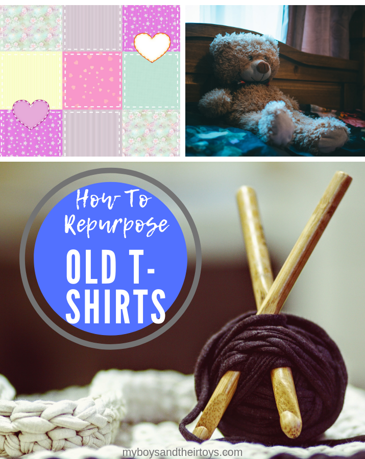 repurpose old tshirts