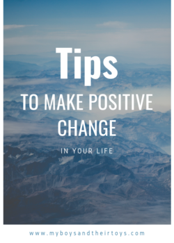 positive change in your life