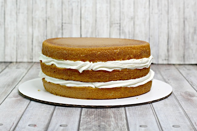 layered banana pudding cake