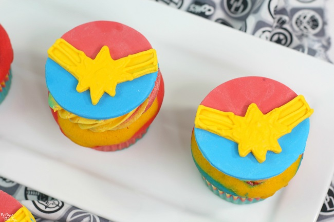 Captain Marvel party food
