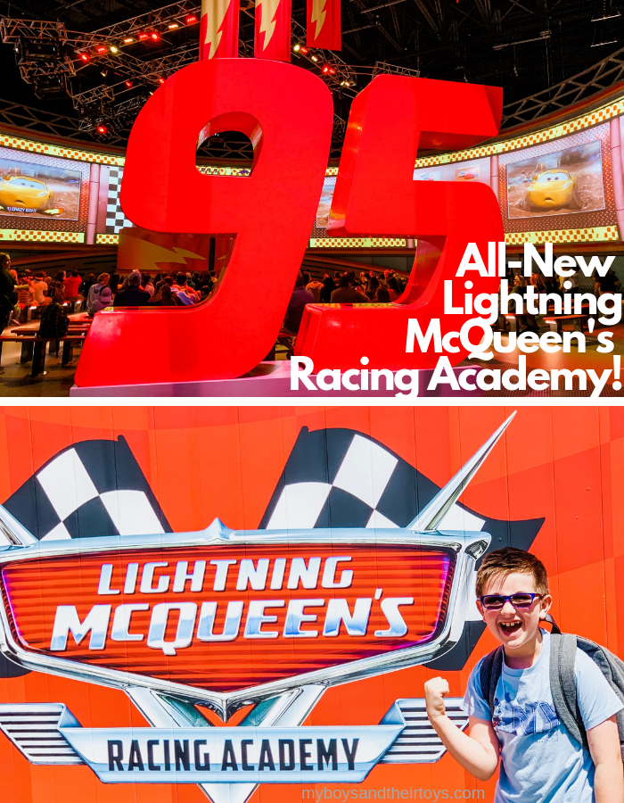 inside lightning mcqueens racing academy