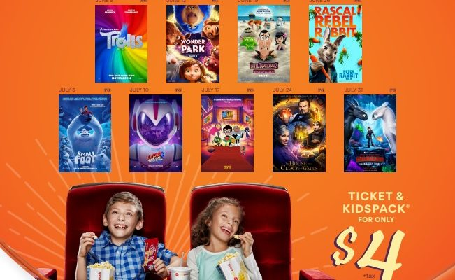 AMC Summer Movies for Kids Deal!
