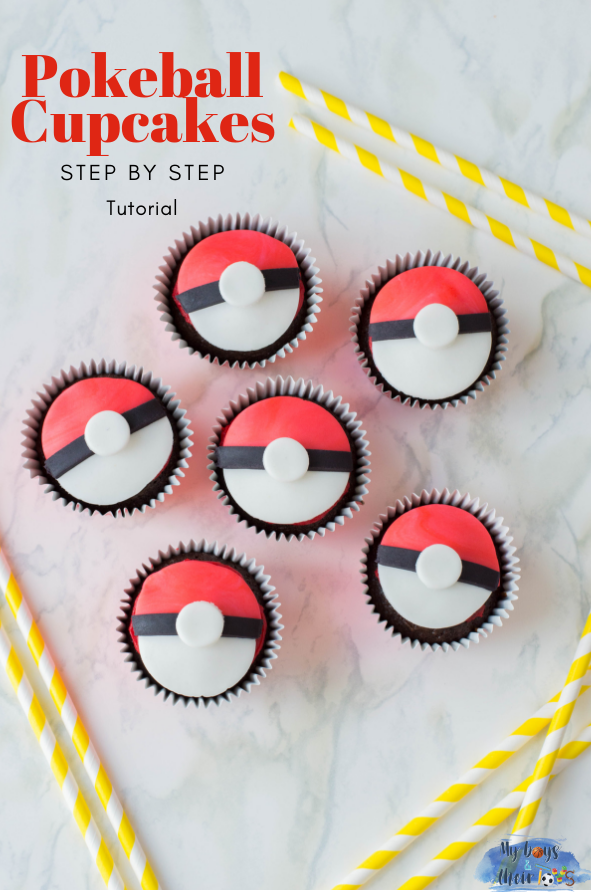 pokeball cupcakes Detective Pikachu Movie
