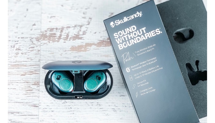 Skullcandy Push Bluetooth Wireless Earbuds