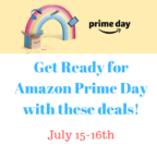 Get Ready for Amazon Prime Day with these deals!