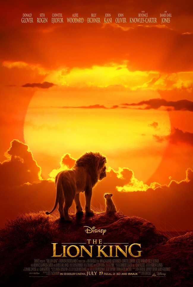 The Lion King live action poster