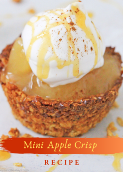 mini apple crisp recipe with oats