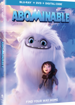 abominable movie blu-ray
