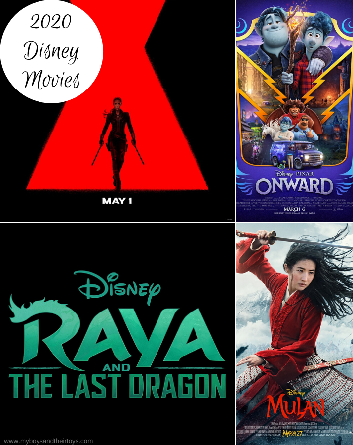 2020 disney movies list