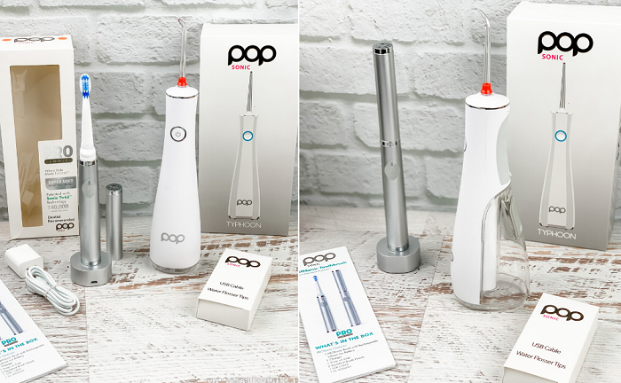 pop sonic beauty products water flosser sonic toothbrush