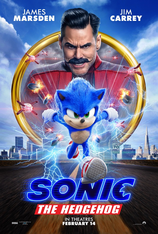 Sonic the hedgehog movie review movie poster