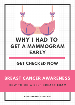 why I had to get a mammogram early