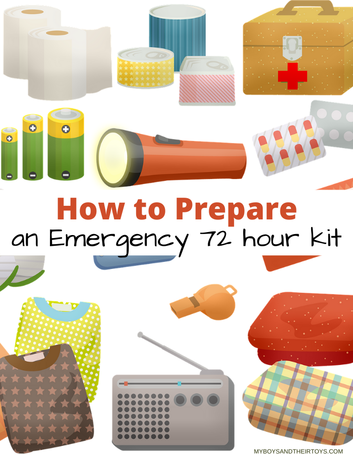 emergency 72 hour kit