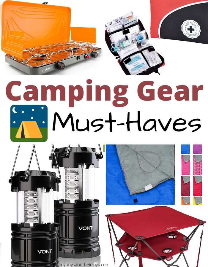 camping gear must haves