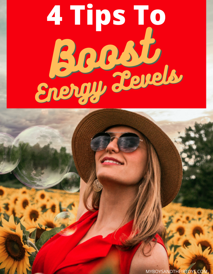 4 tips to boost energy levels