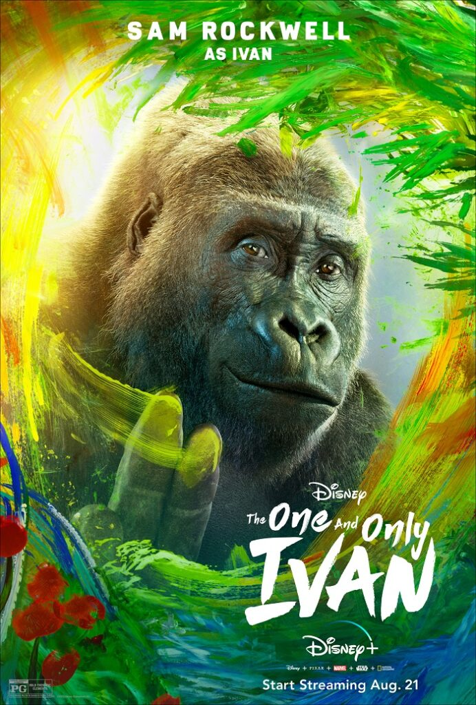 THE ONE AND ONLY IVAN poster